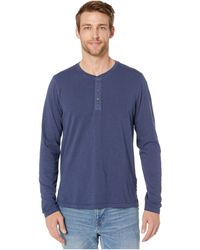 Toad&Co Primo Long Sleeve Henley - Blue