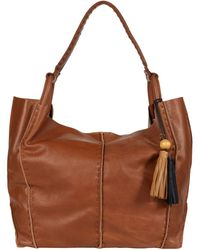 The Sak Los Feliz Leather Tote - Brown