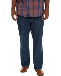 Carhartt Big Tall Flame-resistant Rugged Flex Jeans Straight Fit - Black