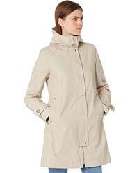 Sam Edelman Swing Coat Trench Jacket - Natural