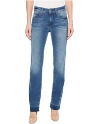 NYDJ - Marilyn Straight W/ Wide Release Hem In Wishful (wishful) Women's Jeans - Lyst