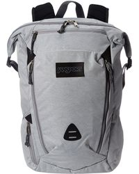 a097ed0698 Wynwood (black Ballistic Nylon) Backpack Bags.  70. Zappos · Jansport -  Shotwell (grey Heathered Poly) Backpack Bags - Lyst