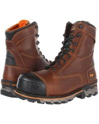 Timberland Boondock Wp Insulated Soft Toe - Brown