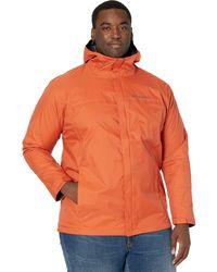Columbia Big Tall Watertight Ii Jacket Coat - Orange