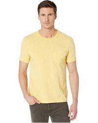 J.Crew Garment-dyed Slub Cotton Crewneck T-shirt - Yellow