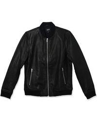 Lamarque Tate Bomber Jacket - Black