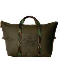 Pendleton Canvas Gym Bag - Green