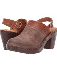 Born - Vidar (black/black Combo) Women's Shoes - Lyst