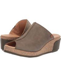 El Naturalista Leaves N5005 (black) Women's Shoes - Brown