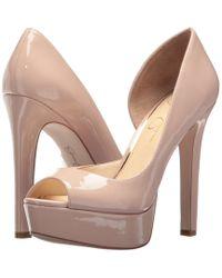 545b7df5ee27 Jessica Simpson - Martella (nude Blush Patent) High Heels - Lyst