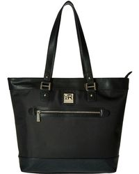 Kenneth Cole Reaction - Call It A Night - Nylon Tote (black) Tote Handbags - Lyst