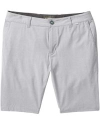 Linksoul Ls6115 Perforated Boardwalker Shorts - Gray
