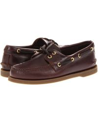 Sperry Top-Sider - Authentic Original (sahara) Men's Lace Up Casual Shoes - Lyst