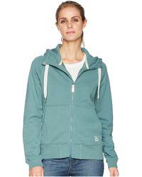 Fjallraven - Greenland Zip Hoodie (frost Green) Women's Sweatshirt - Lyst