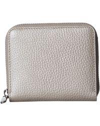 Ecco Sp 3 Small Zip Around Wallet - Gray
