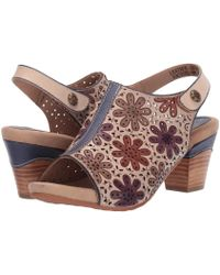 3af48476edf6 Spring Step - Racquel (navy Multi) Women s Shoes - Lyst