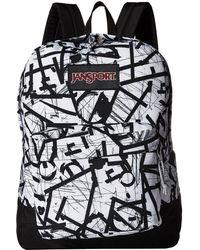 Jansport - Black Label Superbreak (boho Block) Backpack Bags - Lyst