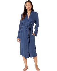 N By Natori - Soho Brush Robe (heather Grey) Women's Pajama - Lyst