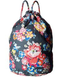 Vera Bradley - Iconic Ditty Bag (shore Thing) Backpack Bags - Lyst d995e986f9685