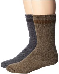 Wigwam Super Boot 2-pack Sock - Black