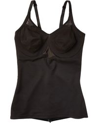 Miraclesuit Extra Firm Sexy Sheer Shaping Underwire Camisole - Black