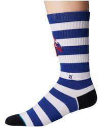 Stance - Staycation (blue) Men's Crew Cut Socks Shoes - Lyst