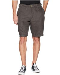 True Grit - Sunset Linen Drawstring Chino Shorts (khaki) Men's Shorts - Lyst