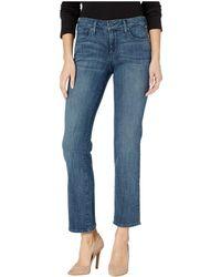 NYDJ - Petite Marilyn Straight In Lupine (lupine) Women's Jeans - Lyst