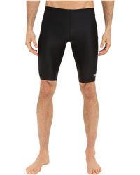 aa83201337 Speedo - Powerflex Eco Solid Jammer (new Black) Men's Swimwear - Lyst