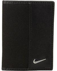Nike - Nylon Cardfold (grey) Wallet Handbags - Lyst