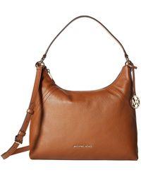 Michael Kors - Aria Large Shoulder Bag Luggage - Lyst