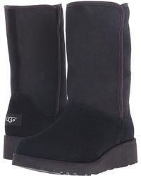 Lyst - UGG Ugg Amie - Classic Slim(tm) Water Resistant Short Boot in ... 0c174f3e29