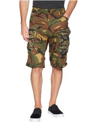 G-Star RAW - Rovic Relaxed 1/2 Shorts (dark Fall/bright Rovic Green All Over) Men's Shorts - Lyst