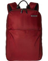 Briggs & Riley Sympatico - Backpack - Red