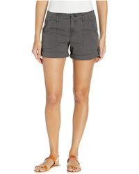 Sanctuary Explorer Patch Pocket Shorts - Black