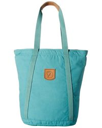 Fjallraven - Totepack No. 4 Tall (lagoon) Backpack Bags - Lyst