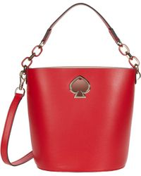 Kate Spade Suzy Small Bucket - Red
