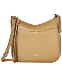 COACH - Polished Pebble Leather Chaise Crossbody - Lyst