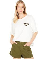 RVCA Bubbly Short Sleeve Tee - Natural