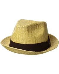 Brixton - Castor (brown/gold) Traditional Hats - Lyst