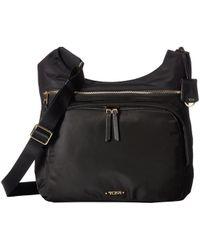Tumi - Voyageur Siam Crossbody (black) Cross Body Handbags - Lyst