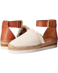 See By Chloé - Sb28151 (navy/beige) Women's Shoes - Lyst