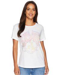Lucky Brand - Ac/dc Tee (lucky White) Women's T Shirt - Lyst