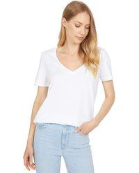 AG Jeans Jagger V-neck - White