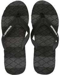 fef22a27face Quiksilver - Massage (black blue green) Men s Sandals - Lyst