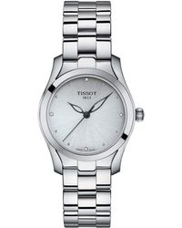 Tissot - T-wave - T1122101103600 (silver/grey) Watches - Lyst
