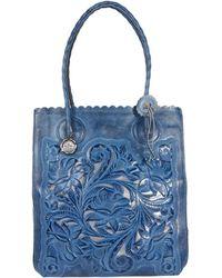 Patricia Nash Cavo Tote Tote Handbags - Blue