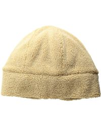 706bf3c3ee8f0 San Diego Hat Company - Cth8146 Washed Faux Sherpa Cuff Beanie (beige)  Beanies -