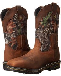Dan Post - Hunter St (saddle Tan) Cowboy Boots - Lyst