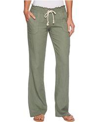 Roxy Ocean Side Pant - Green